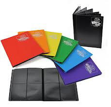 Monster Protectors 4 Pocket Gold Binder